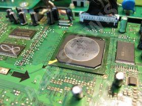 A&D Serwis naprawa monitorów Benq, wymiana komponentów BGA.